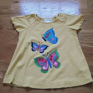 Hanna Andersson yellow top size 3